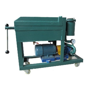 PL Series Plate Pressure Type Sheet Frame Oil Purification Systems for removing all the particles from the oil effectively